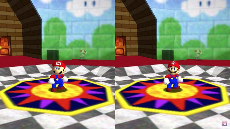 Nintendo: Super Mario 64 para PC recibe mods HD