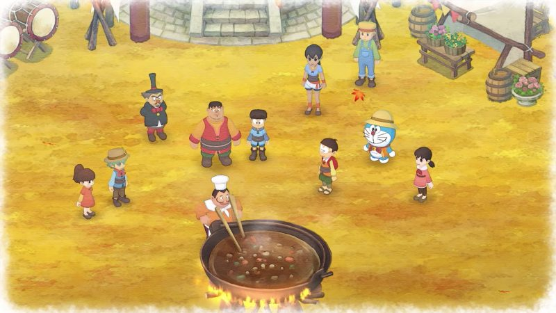 Doraemon: Story of Seasons luce realmente increíble en el PlayStation 4