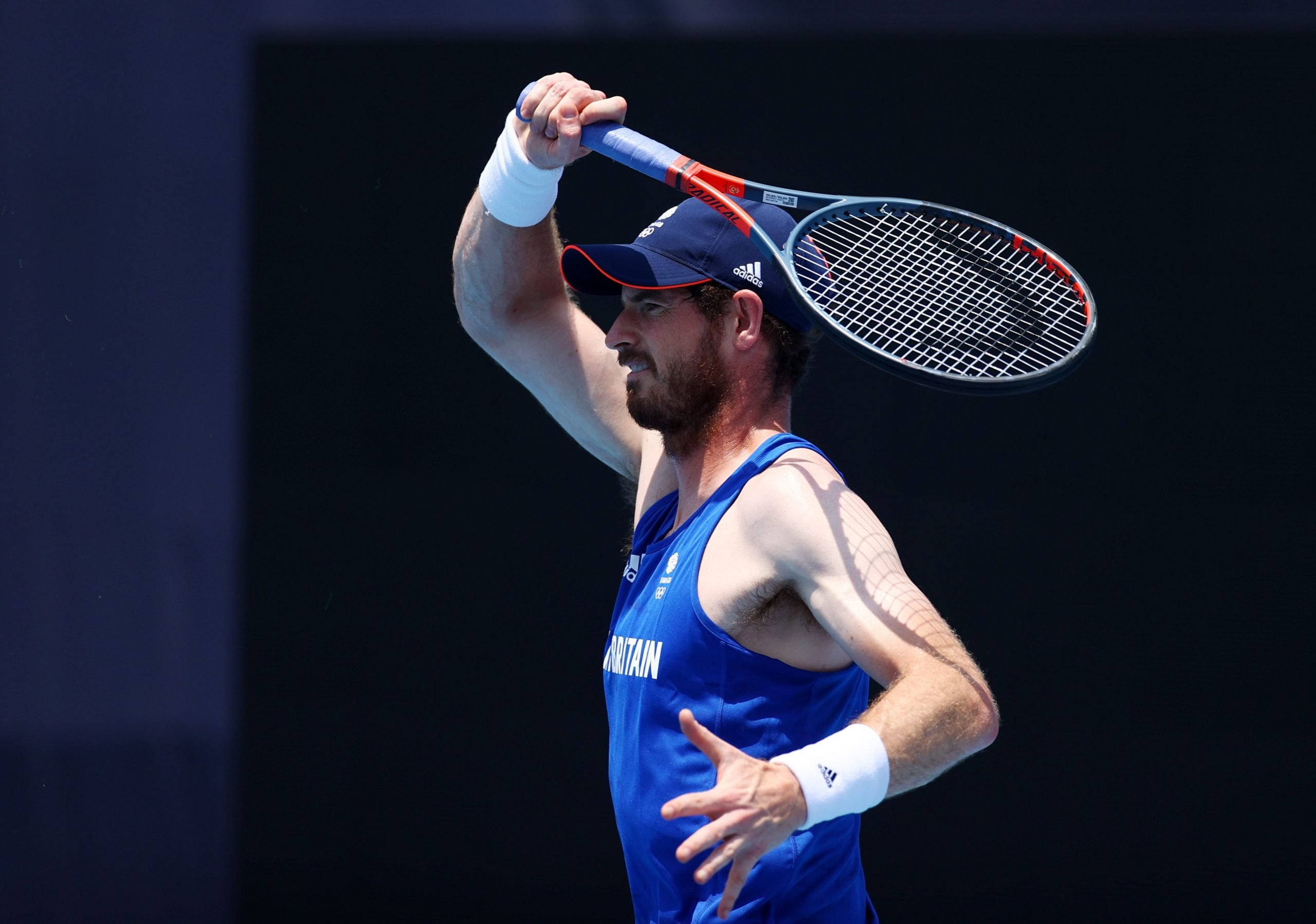 """Andy Murray and a piece of advice for the younger players at the Games: """"If you are not sure about it, come and experience it one time""""."""