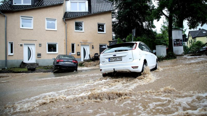 ADVISORY GERMANY-WEATHER/HOUSES COLLAPSE