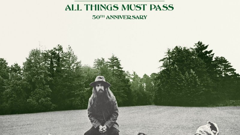 """""""All Things Must Pass"""" de George Harrison cumple medio siglo"""